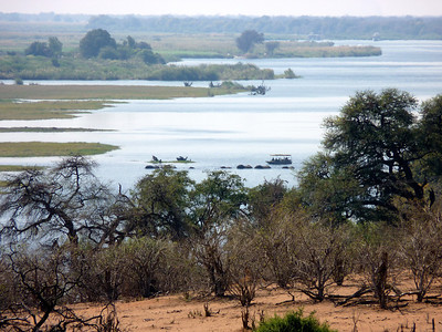 First view of the Chobe River