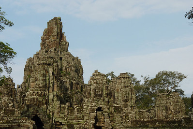 Bayon, the temple of faces. How many can you find?