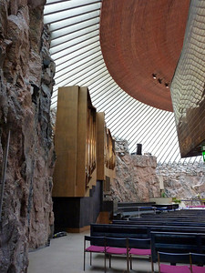 Temppeliaukio - the rock church