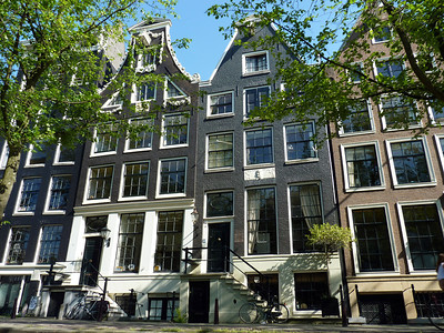 Traditional Amsterdam Houses