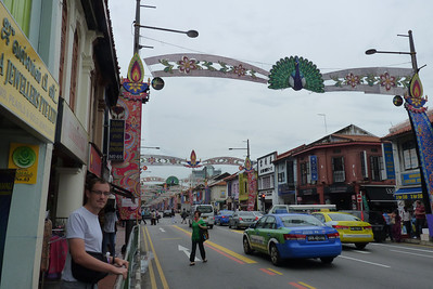 Justin in Little India