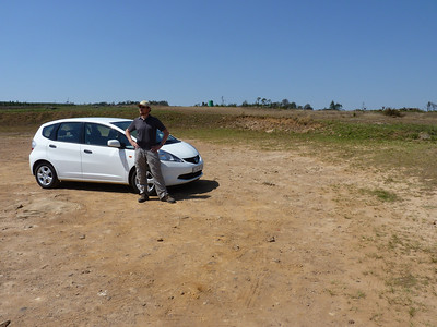 Rental car - they all look the same in South Africa