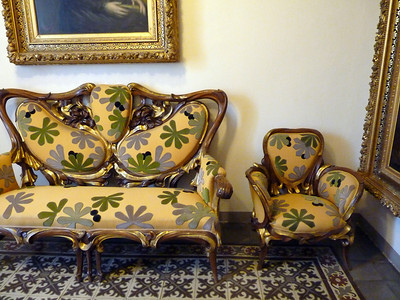 Gaudi's furniture