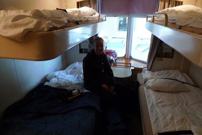 Bunks! A bit blurry, but you get the idea...