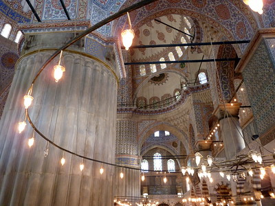 Lights in the mosque